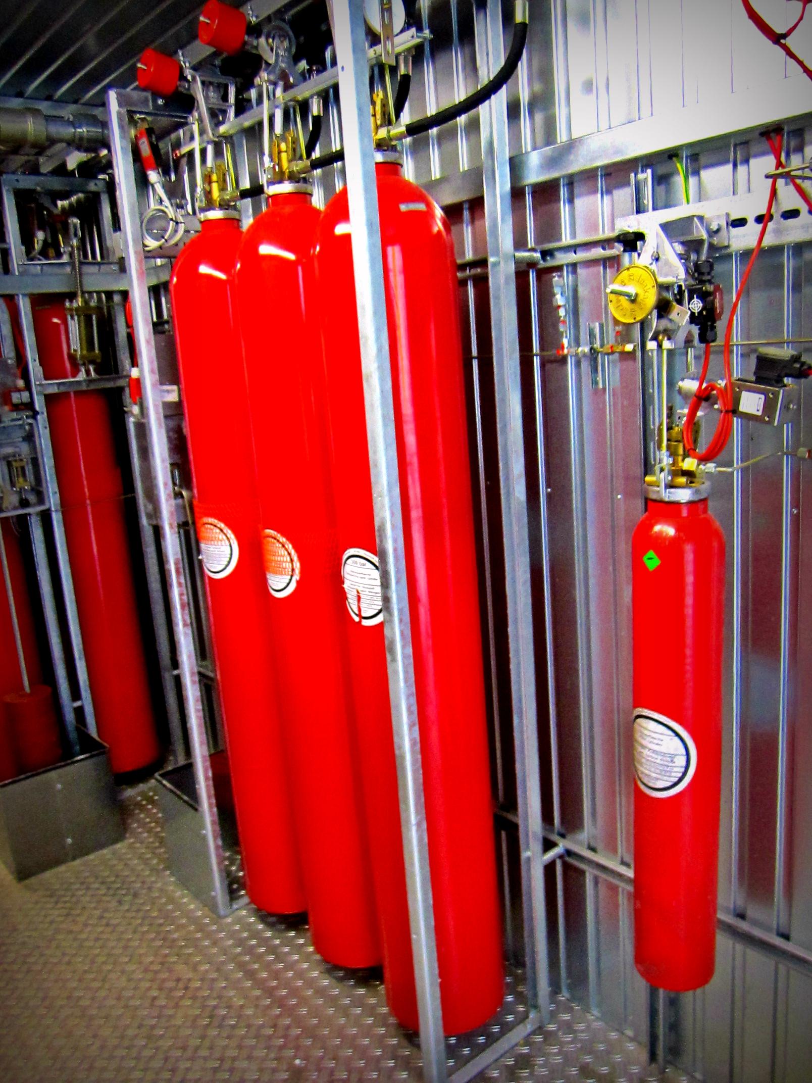 gas fire suppression system pdf